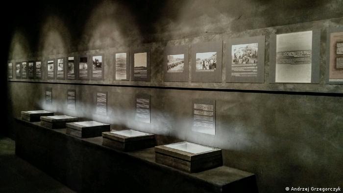 Ausstellung im ehemaligen deutschen NS-Vernichtungslager Kulmhof