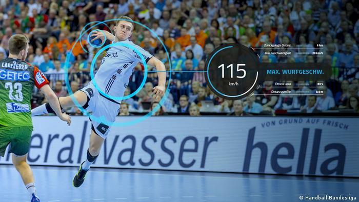 Розумна форма німецьких гандболістів робить телетрансляції матчів більш видовищними