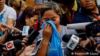 Philipinen Angeklagten des Maguindanao-Massakers 2009 (Reuters/E. Lopez)