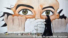 BdTD Irak Wandgemälde als Protest gegen die Regierung