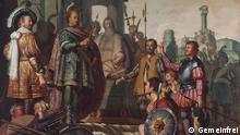 Historiengemälde mit Selbstporträt des Malers   Rembrandt van Rijn (Gemeinfrei)