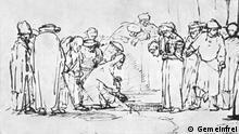Die Ehebrecherin vor Jesus   Rembrandt Harmensz. van Rijn (Gemeinfrei)