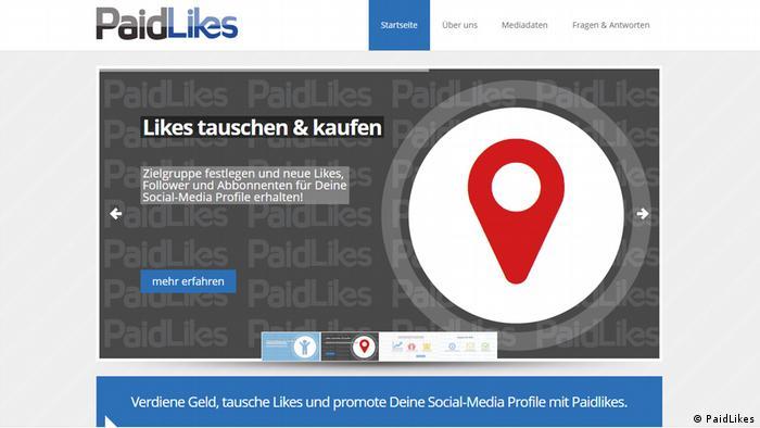 Deutschland PaidLikes Affäre Roman Müller-Böhm, FDP Screenshot PaidLikes