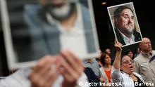 Spanien Barcelona | Demonstration & Solidarität für Oriol Junqueras, Separatistenführer