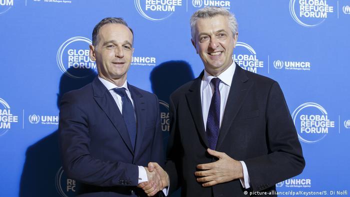 Heiko Maas i Filippo Grandi e Genewie