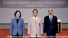 Taiwan Wahlen 2020 Kandidaten
