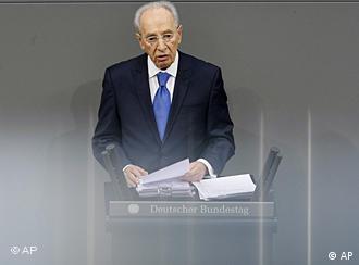 Shimon Peres est le troisième président israélien à venir en visite officielle en Allemagne.