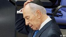 Deutschland Israel Präsident Schimon Peres Rede im Bundestag in Berlin