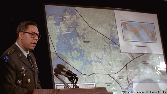 La operación fue planeada y dirigida por el general Collin Powell (foto).