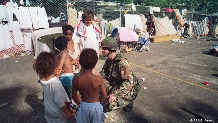 BG US-Invasion in Panama 1989 | US Soldaten (AFP/B. Pearson)