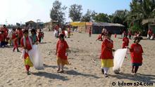Bangladesch | Clean Up am Strand der Insel St. Martin