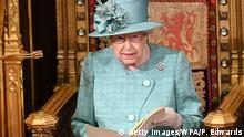 Großbritannien Parlamentseröffnung in London durch die Queen