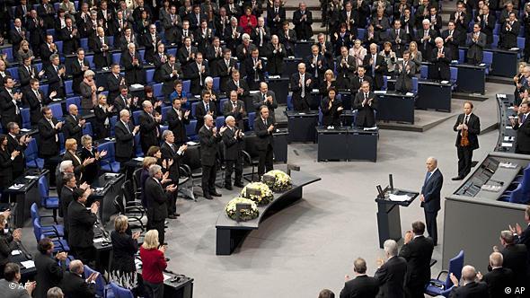 Deutschland Israel Präsident Schimon Peres Rede im Bundestag in Berlin Flash-Galerie