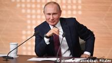 Russland Moskau PK Wladimir Putin