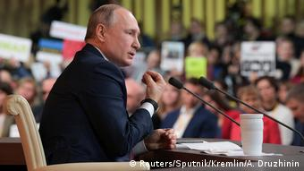 Russland Moskau PK Wladimir Putin (Reuters/Sputnik/Kremlin/A. Druzhinin)