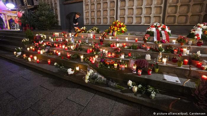 Deutschland Berlin Gedenken Opfer Anschlag Breitscheidplatz