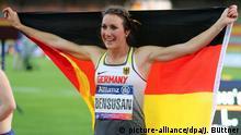Sprinterin Irmgard Bensusan holt Gold