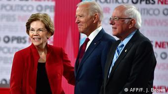 USA: TV-Debatte der Demokraten (AFP/F. J. Brown)