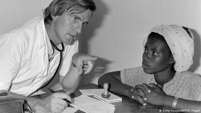 Dr. Bernard Kouchner in 1981