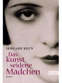 Cover of 'The Artificial Silk Girl' in German