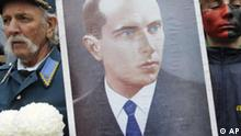 Ukraine Demonstration Stepan Bandera Kiew