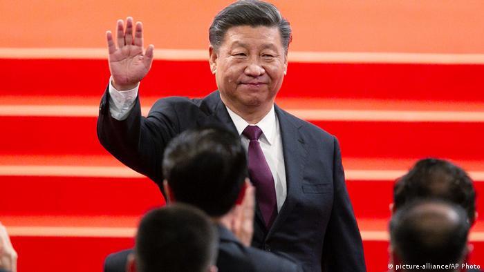 Chinesischer Präsident Xi Jinping zur Besuch in Macau