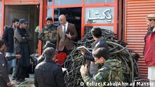 Die Polizei von Kabul hat nicht standardisierte Brennstoffe gesammelt, um Luftverschmutzung zu verhindern.