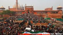 Indien | Delhi | Protest gegen neues Einbürgerungsgesetz