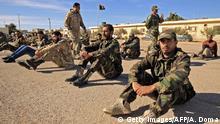 Libyen Kämpfe   Kämpfer von General Khalifa Haftar