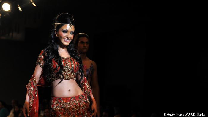 Indische Schauspielerin Koena Mitra (Getty Images/AFP/D. Sarkar)