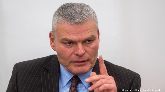 Treffen der CDU-Kreisvorsitzenden in Magdeburg, Holger Stahlknecht