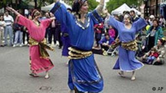 Arabische Tanz und Musik