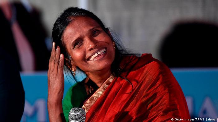 Indien   Sängerin Ranu Monda (Getty Images/AFP/S. Jaiswal)