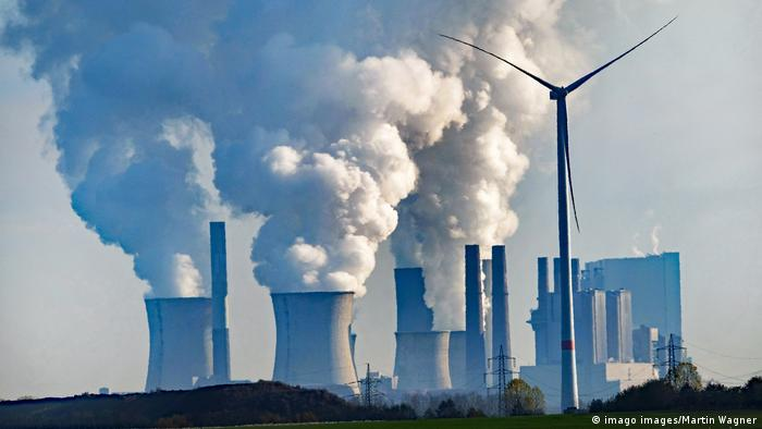 A coal-fired power plant in western Germany
