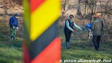 Deutschland Schutzzäune gegen Afrikanische Schweinepest