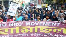 No NRC, No CAA movementBewegung Proteste Indien