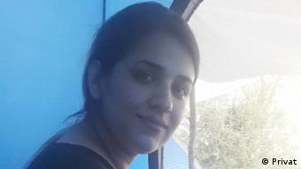 Griechenland Zeinab im Flüchtlingskamp Moria