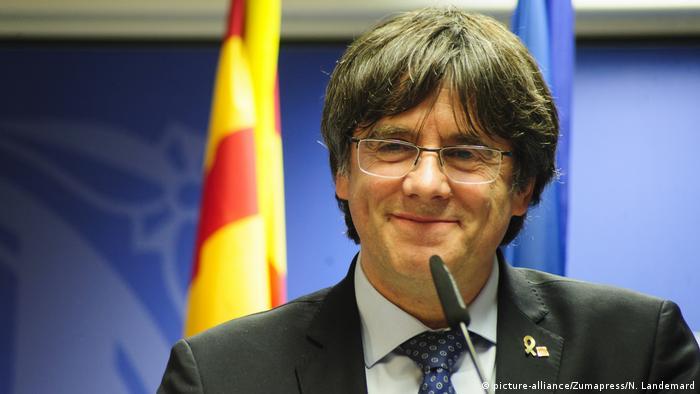 Carles Puigdemont Akkreditierung EU-Parlament