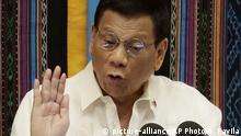 Philippinen Präsident Rodrigo Duterte