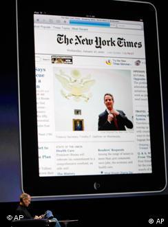 Глава Apple Стівен Джобс презентує iPad