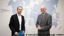 Norbert Lammert, Präsident der Konrad-Adenauer-Stiftung Fotografin: Juliane Liebers am 11.12., Adenauer Stiftung.