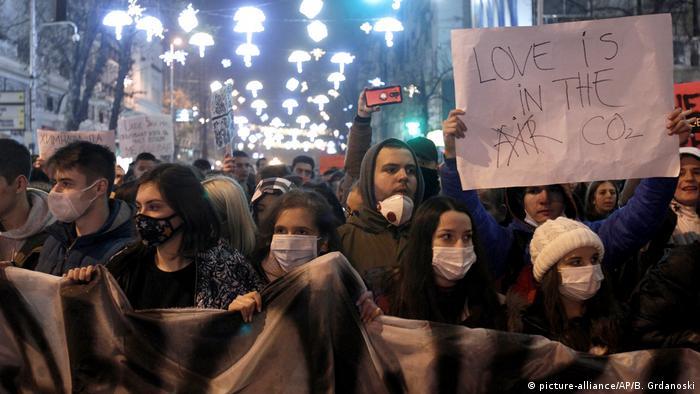 Nord-Mazedonien: Umweltproteste in Skopje