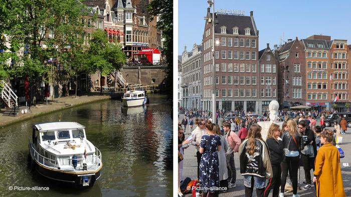 Utrecht and Amsterdam in comparison