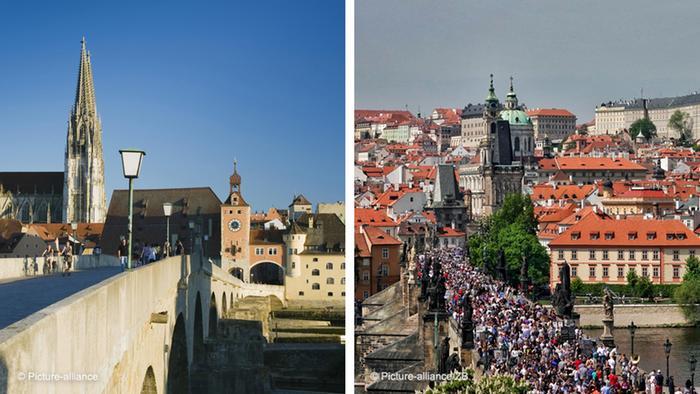 Ratisbona y Praga