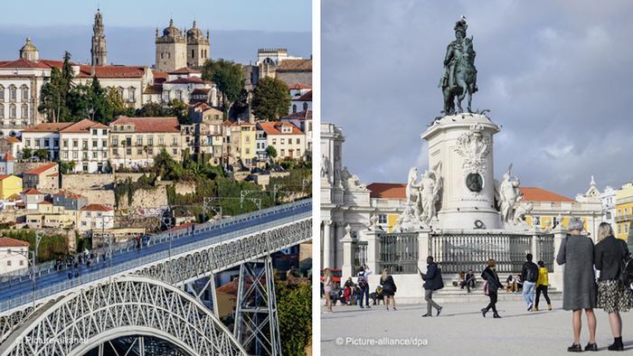 Oporto y Lisboa.