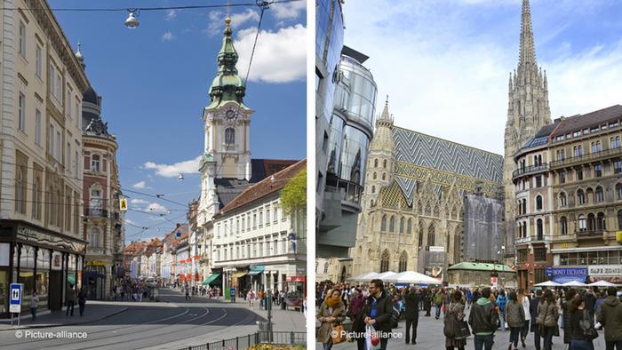 Graz y Viena