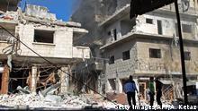 Syrien, Idlib: Erneute Zerstörung und Flucht