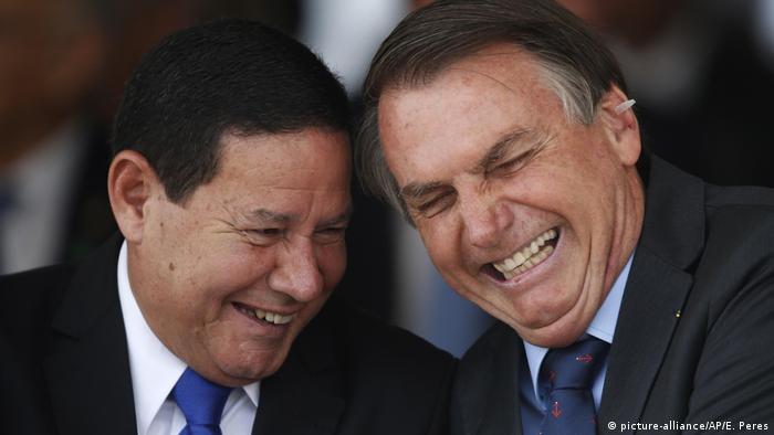 Jair Bolsonaro- Präsident von Brasilien mit Hamilton Mourao