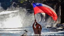 Chile: Proteste und Ausschreitungen in Santiago de Chile