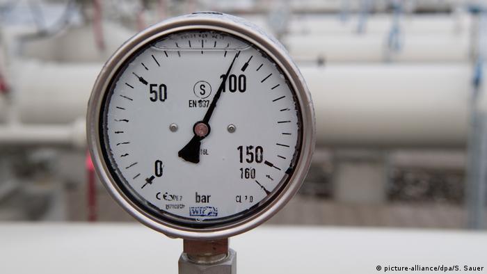 Один из приборов на газопроводе Северный поток - 2